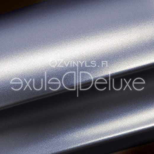 Satin Metallic Cloudy Sky Blue QZ1215