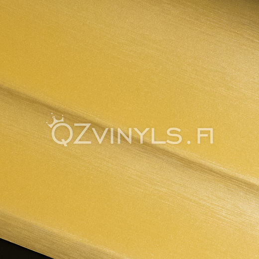 Brushed Aluminium Gold