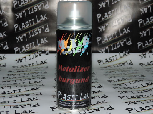 Plastilak - Metalli Punainen 400ml Spray