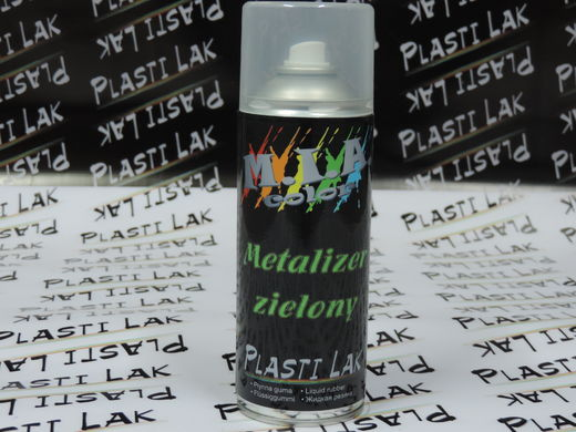 Plastilak - Metalli Vihreä 400ml Spray