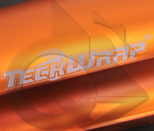 Teckwrap Wild Orange VCH306 (Matte chrome)